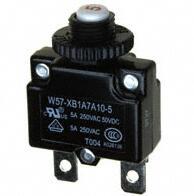 te电路保护,断路器W57-XB1A7A10-5,te代理商